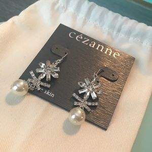 Formal evening Earrings with pearl